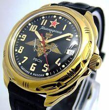 RUSSIAN VOSTOK MILITARY KOMANDIRSKIE WATCH # 21963. NEW