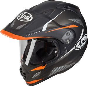 ARAI XD-4 Break Orange Adventure Touring Motorcycle Helmet Dual Sport