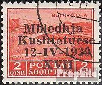 Albanien 285 gestempelt 1939 Verfassungsgebende Versammlung