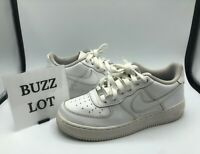 NIKE AIR  FORCE 1 LOW 314192-117 TRIPLE WHITE YOUTH SIZE 6.5Y OG SHIPS TODAY