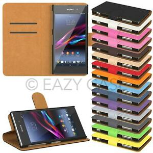 Protective Case for Sony Xperia Phone Case Cover Shell Pouch Folding Case Book