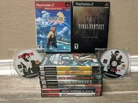 PS2 Lot Of 11 Games - Final Fantasy, Max Payne, Star Wars, Gran Turismo, Lego