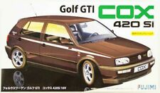 Fujimi F126180 Vw Golf Cox 420Si 16V & Window Frame Masking 1:24 Model Kit