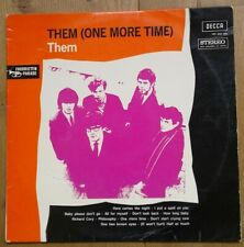 Them LP One more time 1968.Decca XBY 846 005  Made in Holland. VG+ VG+