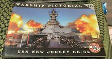 USS New Jersey BB-62 WARSHIP PICTORIAL #16 CLASSIC WARSHIPS PUB RARE OOP