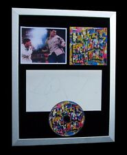 HAPPY MONDAYS+SIGNED+FRAMED+RYDER+STEP ON+PILLS=100% AUTHENTIC+FAST GLOBAL SHIP