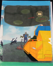 X-Men/Marvel Original Production Cel- Peofessor X and Cable Signed by Stan Lee