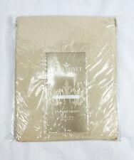 """Royal Velvet Linen Beige Supreme Scalloped Valance, 85""""x18"""""""