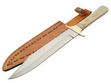 Bone Handle Bowie Collectable Modern Fixed Blade Knives