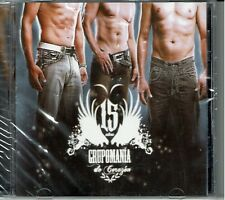 Grupomania 15 Años de Corazon   BRAND  NEW SEALED  CD