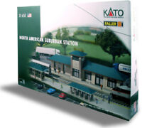 Kato 31-650, N Scale, North American Suburban Station Building Kit - 31650