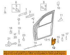 Mercedes MERCEDES-BENZ OEM 02-03 ML55 AMG Front Door-Lock Latch Kit 1637202535