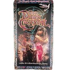The Dark Crystal VHS Vintage 1999 Jim Henson Fantasy Science Fiction