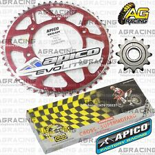 Regina 520 RH Chain Apico Sprocket Set 12T 53T Rear Red For Honda CRF 250R 2010