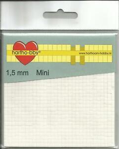 Klebepads - 3 x 3 mm - weiß - verschiedene Stärken - 3D-Pads - 3D - Klebekissen