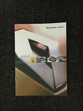 RENAULT MEGANE SERVICE HISTORY BOOK NOT DUPLICATE CLIO LAGUNA MASTER