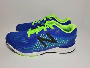 New Balance Boys 880 V10 Running Shoe Blue/Neon Green #YP880H10 Sz 5/Women's 6.5