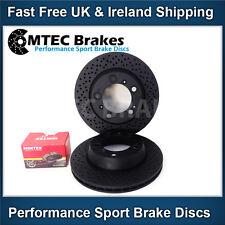 PORSCHE BOXSTER 987 3.2 S 05-12 Disque de frein arrière et elaquettes MTEC Noir