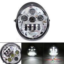 DOT LED 60W Headlight Daymaker For Harley Davidson V Rod V-ROD VRSC VRSCA 02-17