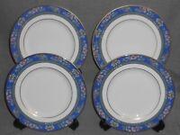 Set (4) 1993 Royal Doulton Bone China AUSTIN PATTERN Salad Plates ENGLAND