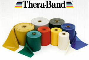 GENUINE THERABAND THERA-BAND RESISTANCE BANDS, NHS, EXERCISE PILATES YOGA PHYSIO