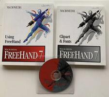 Macromedia Freehand 7 Illustration & Design Program For Apple Mac Macintosh