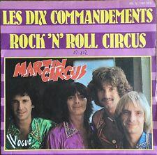 """Martin Circus - Les Dix Commandements - Vinyl 7"""" 45T (Single)"""