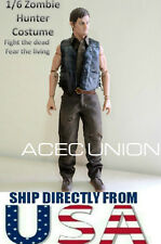 1/6 The Walking Dead Daryl Dixon Clothes Set For Hot Toys Phicen Figure U.S.A.