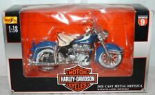 Maisto HARLEY-DAVIDSON 1:18 Model 1962 FLH Duo Glide New in Box Series 9 ~98~