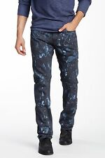 NWT PRPS Goods JAPAN Wolanda Demon Slim Men Jeans 34 x 34 Splattered Bleach $300