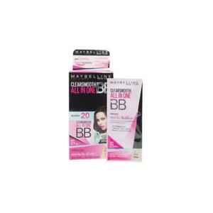 Maybelline New York Clearsmooth All in One BB Cream SPF 21 PA++ 5mlBox of 6.