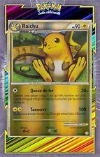 Raichu Reverse - HS01:HeartGold SoulSilver -10/123-Carte Pokemon Neuve Française