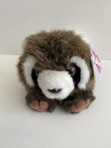 Swibco Puffkins Collection Bandit the Raccoon