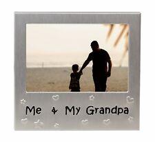 "Me & My Grandpa Photo Picture Frame Gift 5"" x 3.5"""