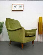 Fabric Queen Anne Original 20th Century Antique Chairs