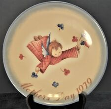 M1018 - Vintage Collector Plate Schmid'S Cherub's Gift Mother's Day 1979