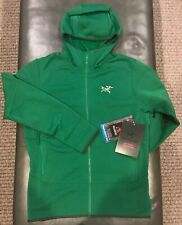 NWTs Arc'teryx Men's Kyanite Fleece Hoody. Small. Canyon (Green) (retail $179)