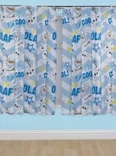 Rideaux et cantonnières blancs en polyester pour la chambre