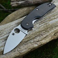 Spyderco Sage 1 Carbon Fiber Handle Linerlock Knife C123CFP