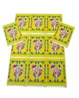 Loot Bags, Clown Design, Childrens Birthday Party Bags Pack of 24