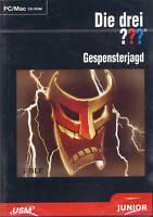 CD-ROM + Die drei ??? Fragezeichen + Gespensterjagd + Detektive +  Abenteuer +