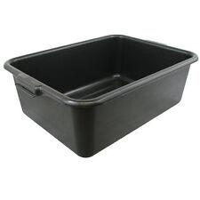 Lot of 8 Black Dish box / Bus box / Bus Tub 20 x 15 x 7