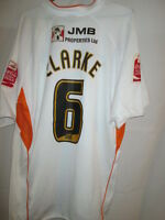 Blackpool Clarke #6 Match Worn and Signed Away Football Shirt with our COA