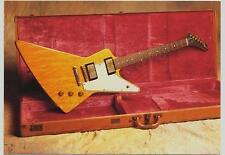 card - 1958 Gibson Explorer - guitar card series 1 #25