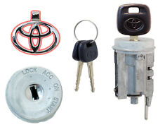 Toyota Echo 2003 2004 - Ignition Lock Cylinder w/2 New Keys - Dealer Brand New