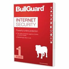BullGuard Internet Security 2017 Antivirus software 1 year 1 PC Genuine Licence