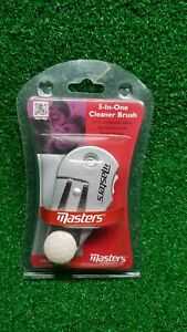 Masters 5-In-1 Cleaner Tool - Golf Brush Divot Pitch Score Stroke Counter Marker