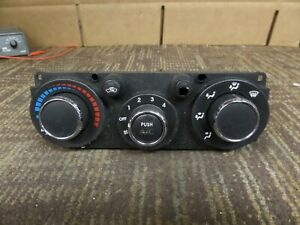 06 07 08 Mitsubishi Eclipse Climate Control Temperature Temp AC A/C  Heat Switch