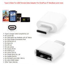 TypeC USB-C USB 3.1 mâle vers USB Femelle OTG Adaptateur Pour MacBook OnePlus 3T