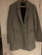 Grey Dorothy Perkins Coat Size 8